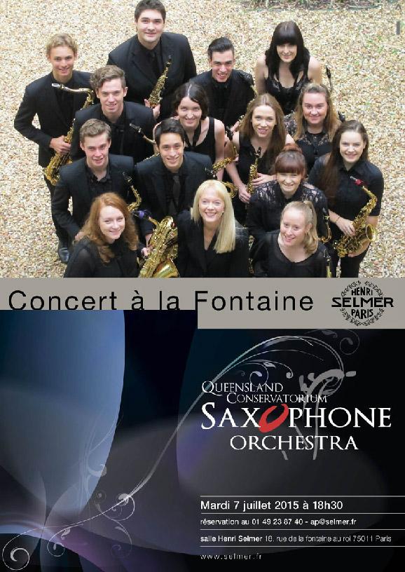 QLD Sax Orchestra Selmer Concert
