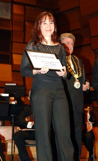 2MBS-FM Fellowship of Australian Composers Award for my orchestral piece, 'Aurora Australis'.