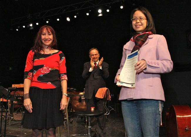 2011 ISCM Young Composer Award winner - Taiwanese composer Chiu-Yu Chou.