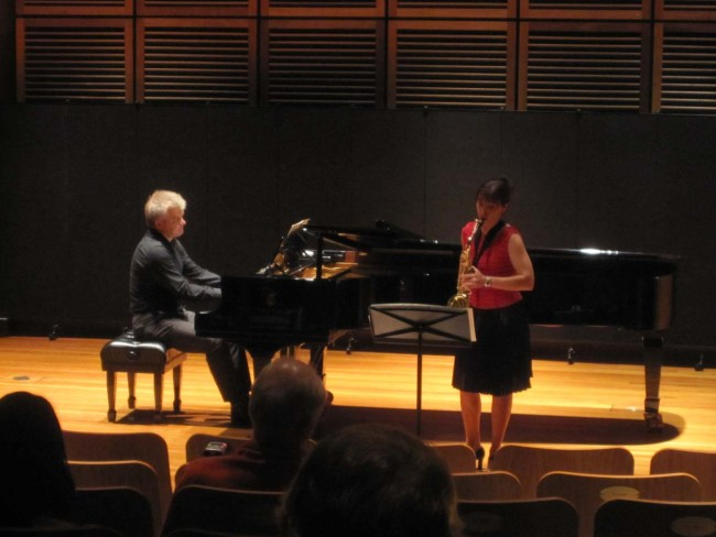 2012 Staff Con Cocktail recital with pianist Philip Shovk.