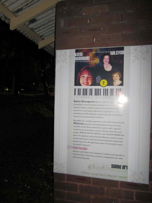 Cool posters of us displayed throughout Cabarita Park & local suburbs.
