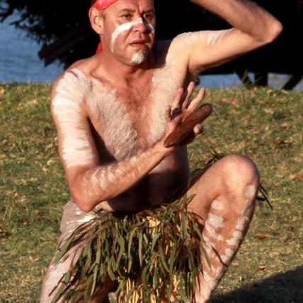 Amazing Aboriginal dancing on the sacred Cabarita Park site.