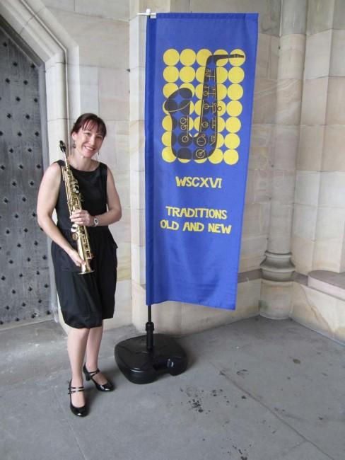2012 World Sax Congress - University of St Andrews, Scotland. Solo recital of Australian music
