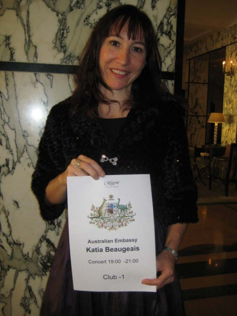 Very proud of my Australiana sign!