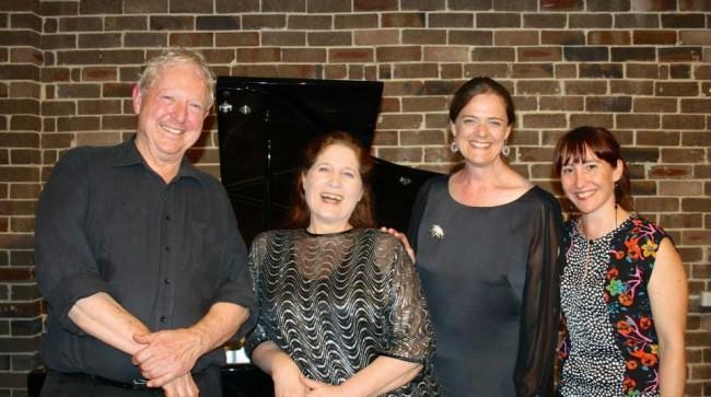 David Miller, Wendy Dixon, Yvette Goodchild & me.