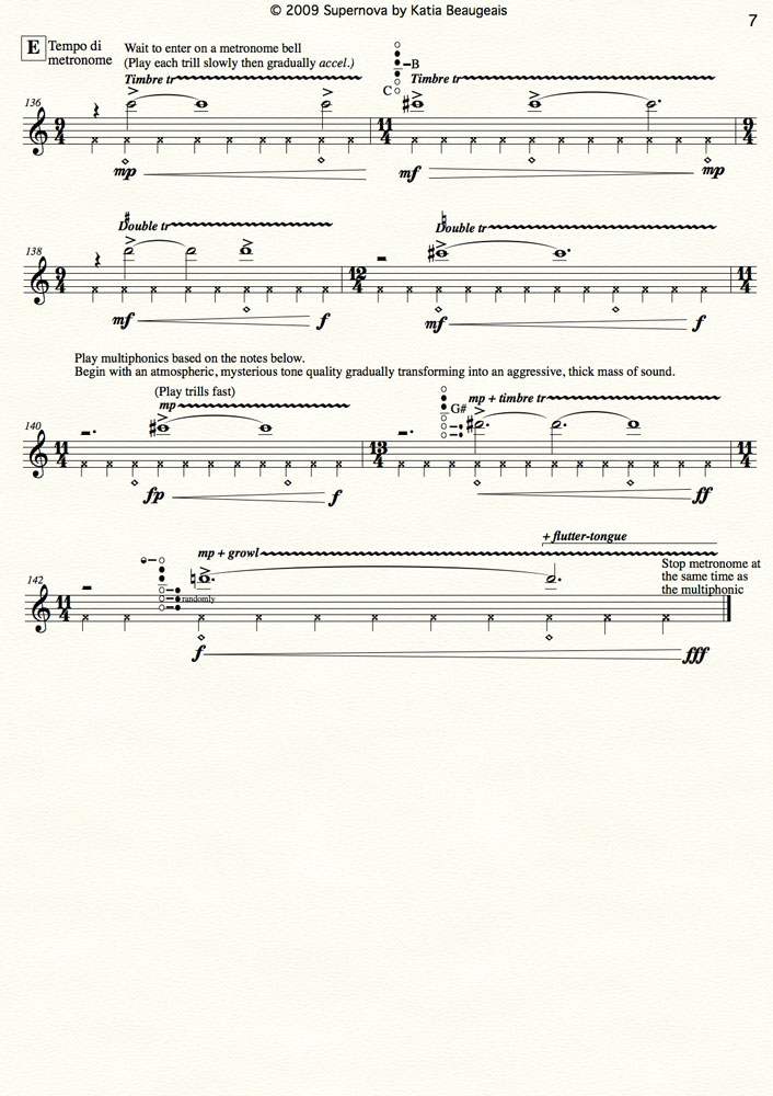 multiphonics and the oboe