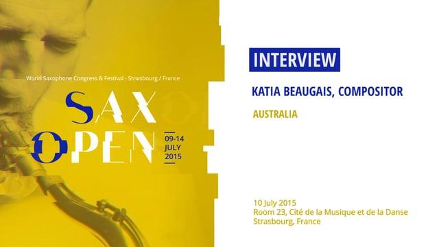 TV Interview – Strasbourg, France