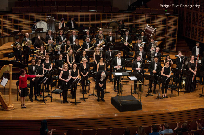 'First Light at Uluru' Wind Symphony premiere.