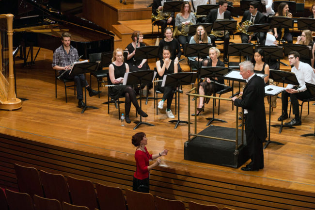 Sound Check - 'First Light at Uluru' Wind Symphony premiere.
