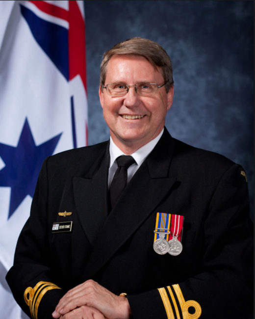 Lieutenant Commander Director/Conductor – Dr Steven Stanke.
