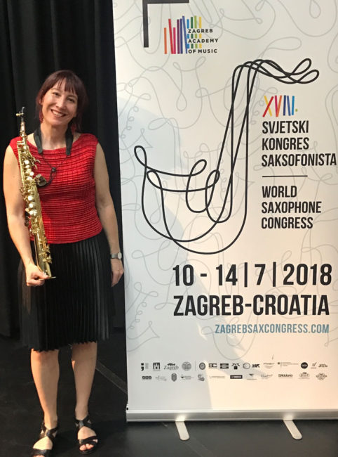 Zagreb World Sax Congress - Solo recital of Australian Sax music