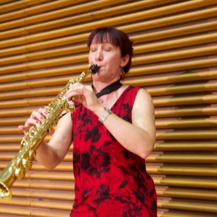 Composer-Saxophonist Katia Beaugeais