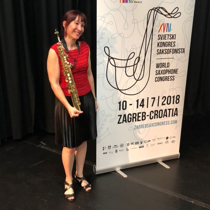 Katia Beaugeais: Composer & Soloist at the International World Sax Congress