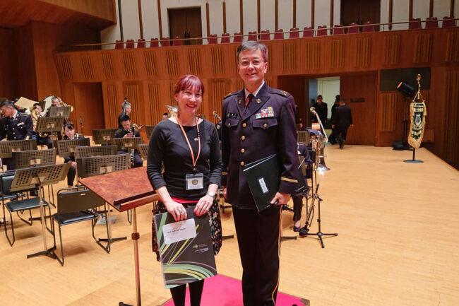 Katia Beaugeais Japan Ground Self Defense Force Central Band