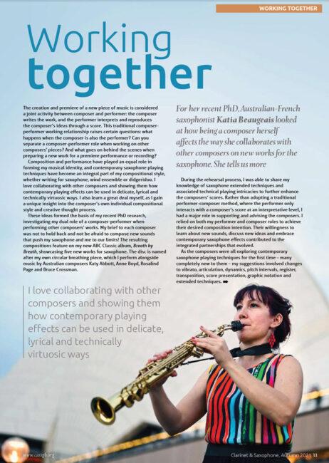 UK Magazine Katia Beaugeais P.1